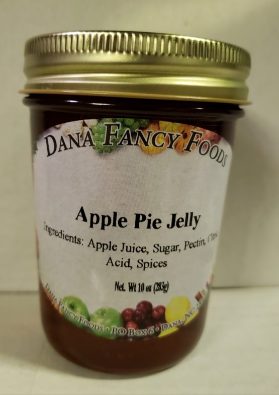 Apple Pie Jelly - Local Family Business - Original Family Recipes For over 50 Years - DanaFancyFoods.com