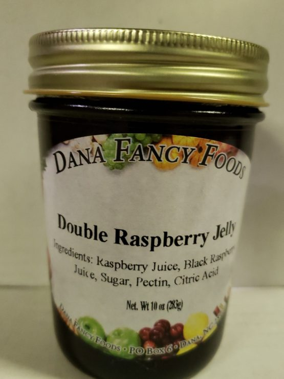Double Raspberry Jelly - Local Family Business - Original Family Recipes For over 50 Years - DanaFancyFoods.com