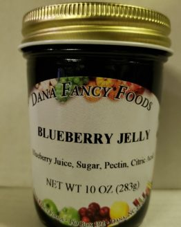 Blueberry Jelly - Local Family Business - Original Family Recipes For over 50 Years - DanaFancyFoods.com