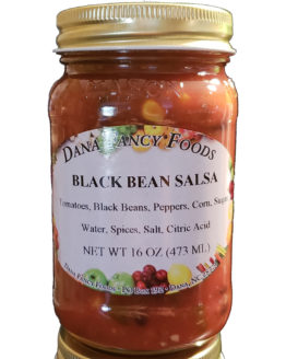 Black Bean Salsa Local Family Business Original Family Recipes For over 50 Years DanaFancyFoods.com