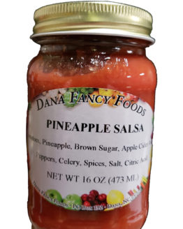 Pineapple Salsa Local Family Business Original Family Recipes For over 50 Years DanaFancyFoods.com